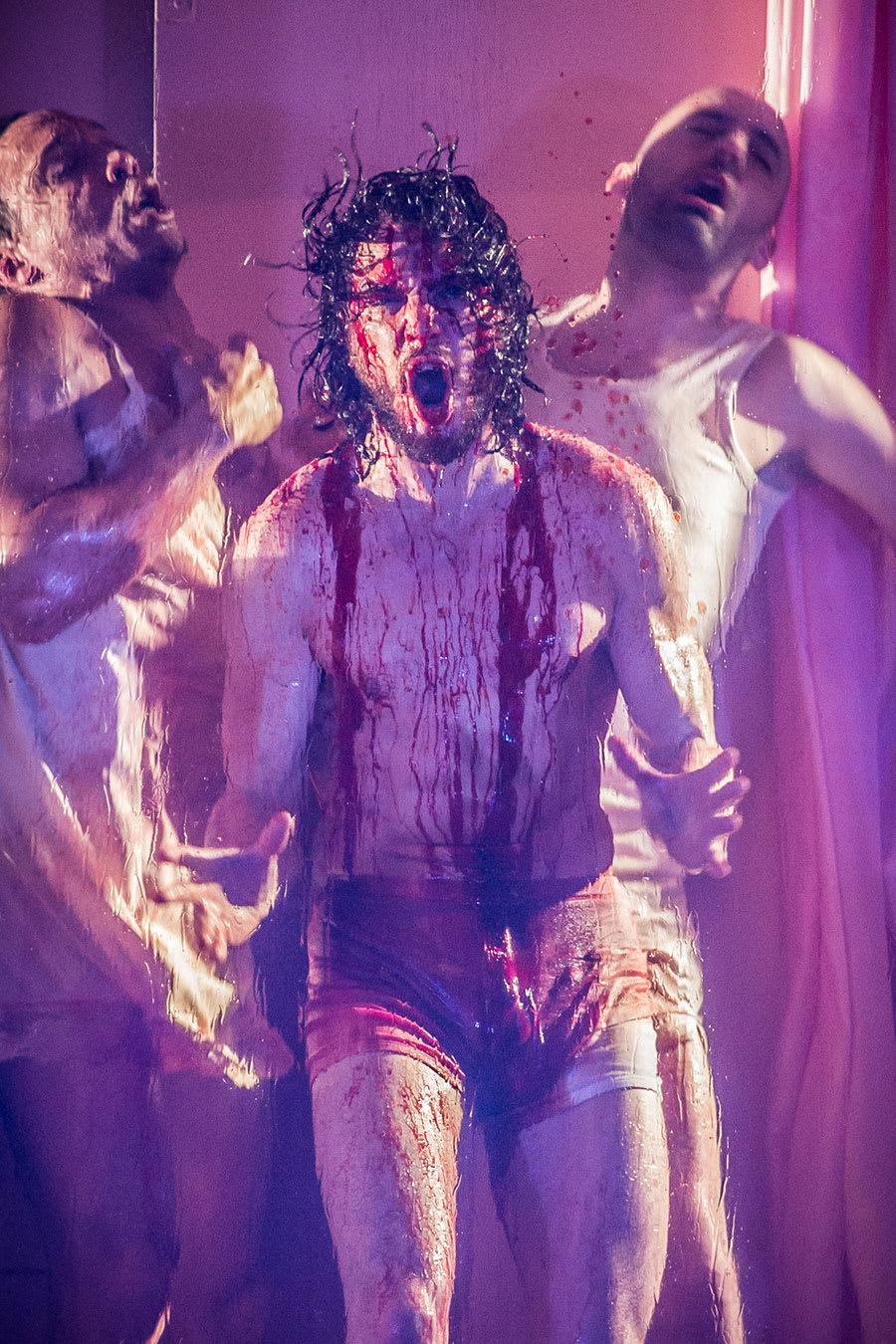 Kit Harington in Doctor Faustus