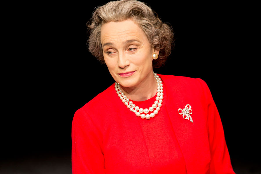Kristin Scott Thomas stars in The Audience (Photo: Johan Persson)