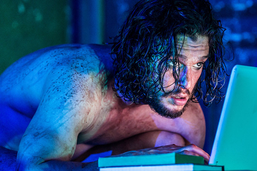 Kit Harington in Doctor Faustus, playing at the Duke of York's Theatre (Photo: Marc Brenner)