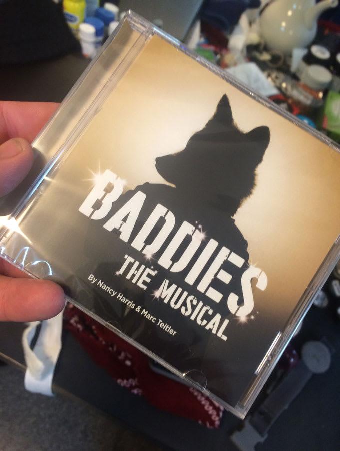 Dean Nolan with the Baddies: The Musical cast album