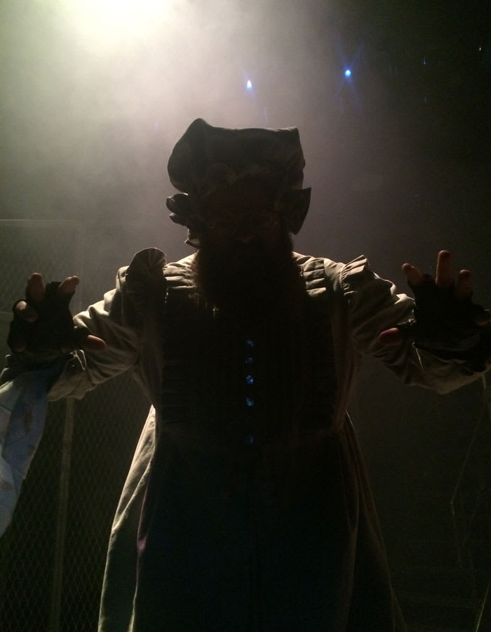 Dean Nolan prepares to take to the stage