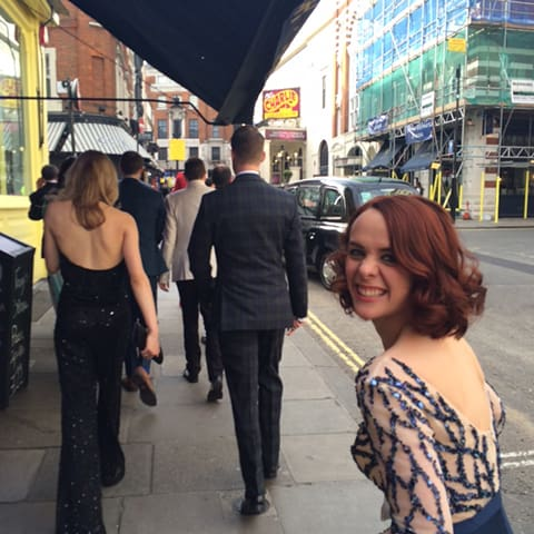 A Day In The Life Of The Play That Goes Wrong: On our way to the Olivier Awards