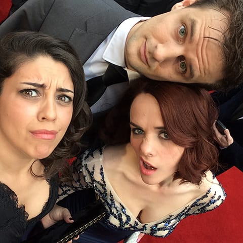 A Day In The Life Of The Play That Goes Wrong: On the red carpet