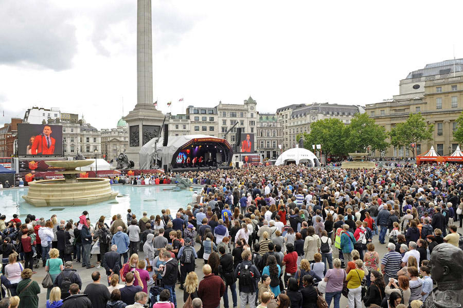 West End LIVE in Trafalgar Square