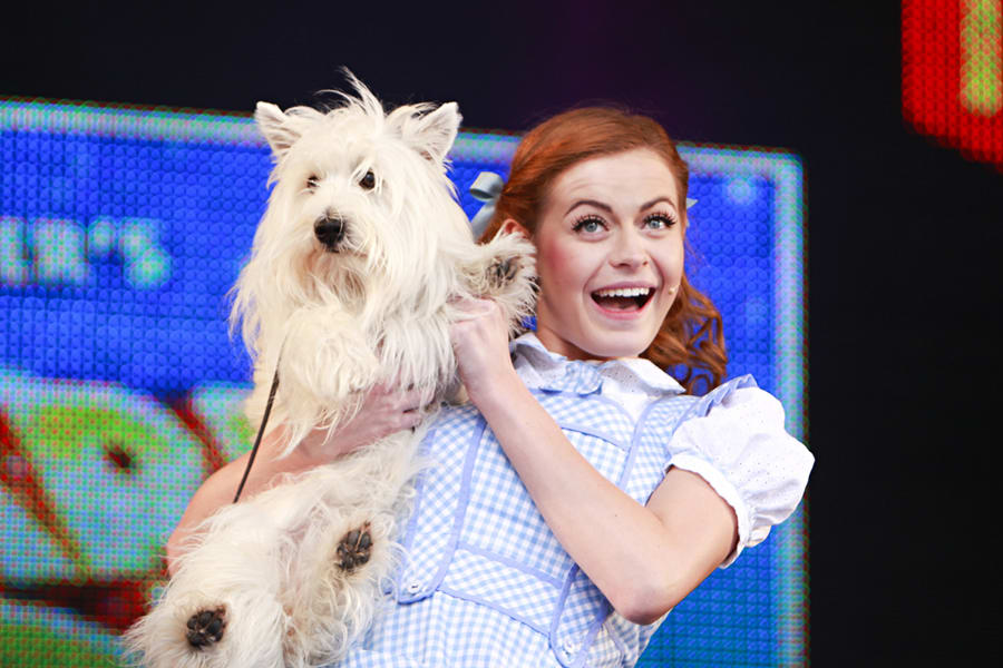 Sophie Evans and Toto at West End LIVE