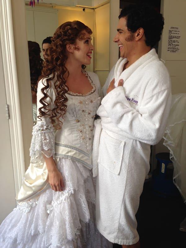 Harriet Jones and Liam Tamne