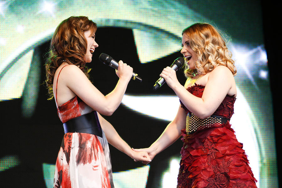 Gina Beck and Louise Dearman at West End LIVE