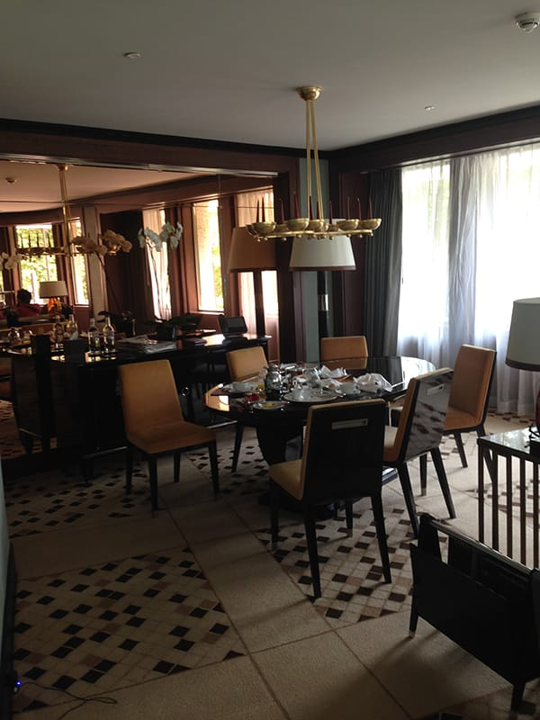 Liam Tamne's hotel