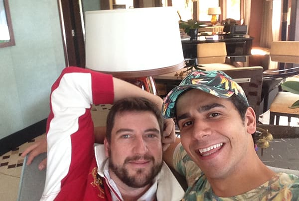 A quick selfie with John Ellis