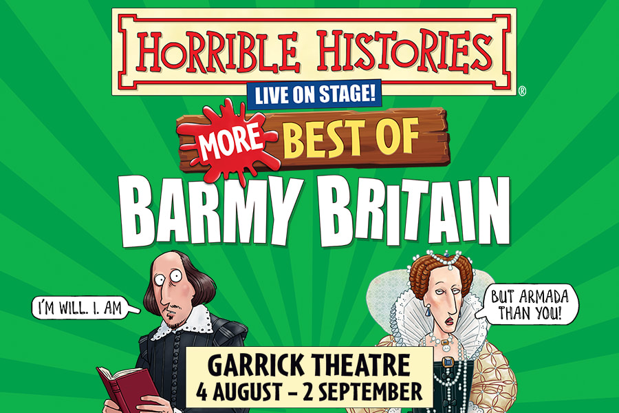 Horrible Histories – More Best Of Barmy Britain - 900x600