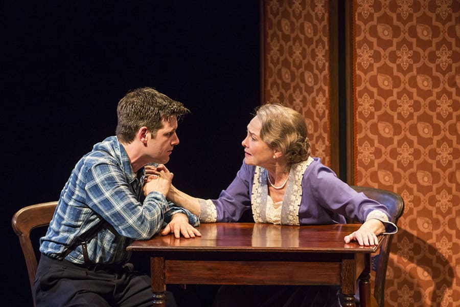 Cherry Jones and Michael Esper in The Glass Menagerie at Duke of York's Theatre (Photo: Johan Persson)