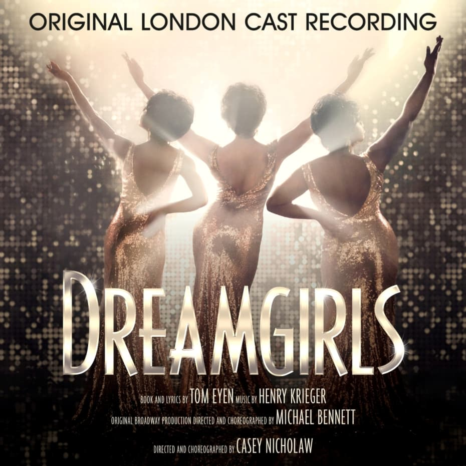 Artwork of the Dreamgirls Original London Cast Recording Album Cover