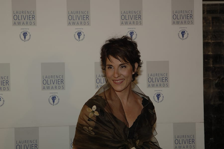 Tamsin Greig at the Olivier Awards 2007 ceremony (Photo: Charlie Hopkinson)