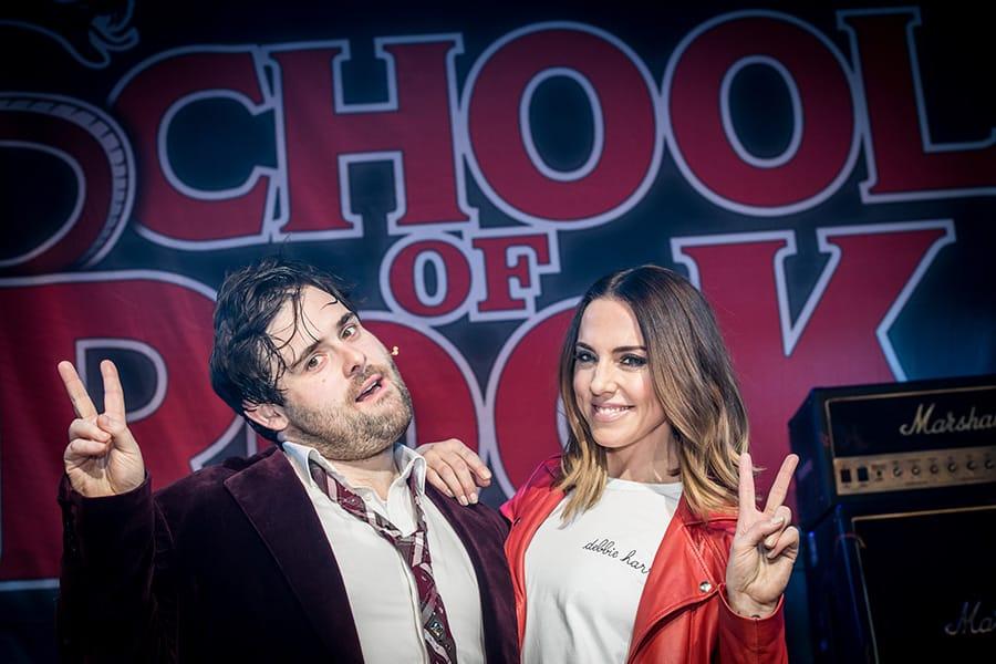 David Fynn and Mel C at School Of Rock The Musical (Photo: Craig Sugden)