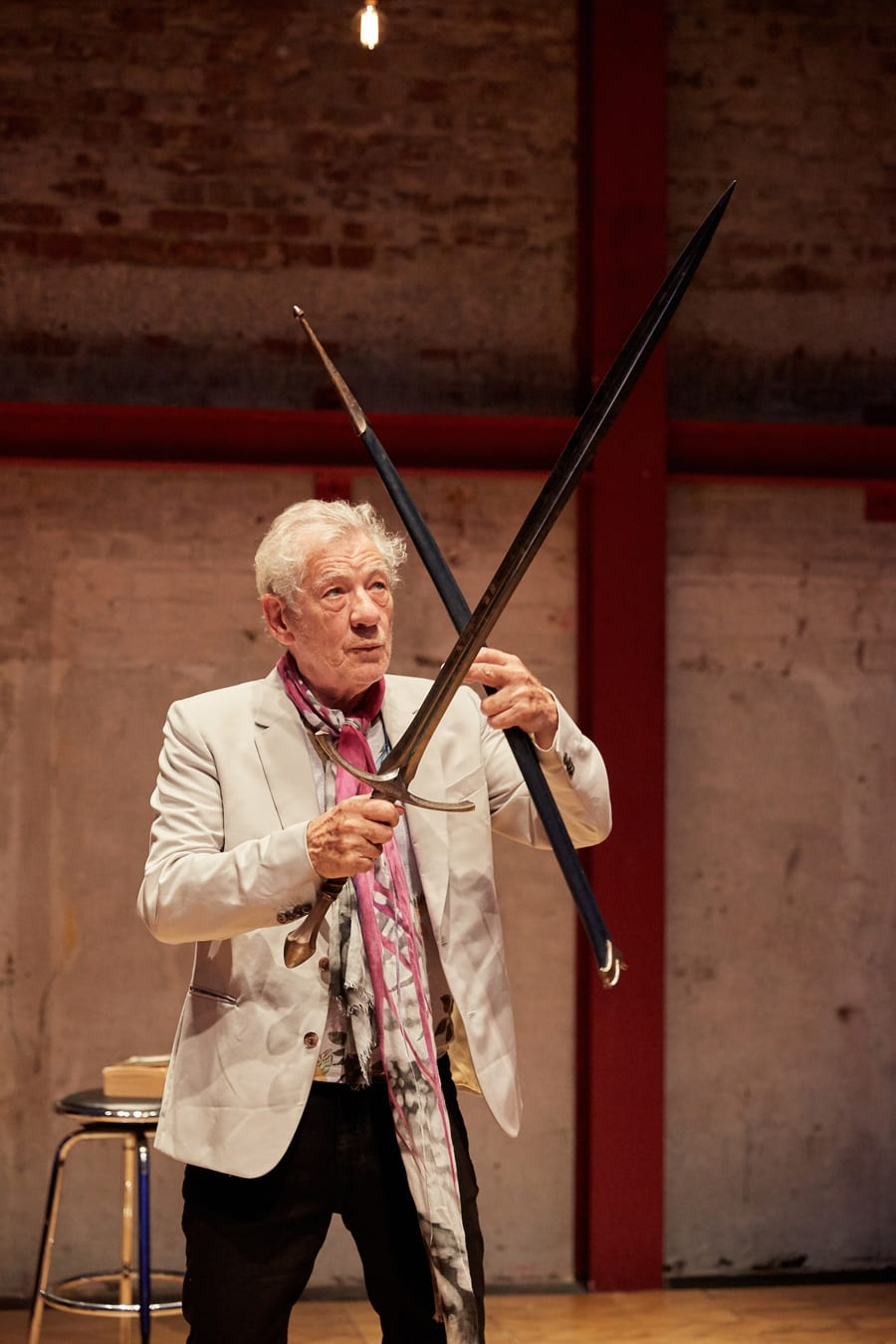 Ian McKellen in Shakespeare, Tolkien, Others & You at the Park Theatre (Photo: Mark Douet)