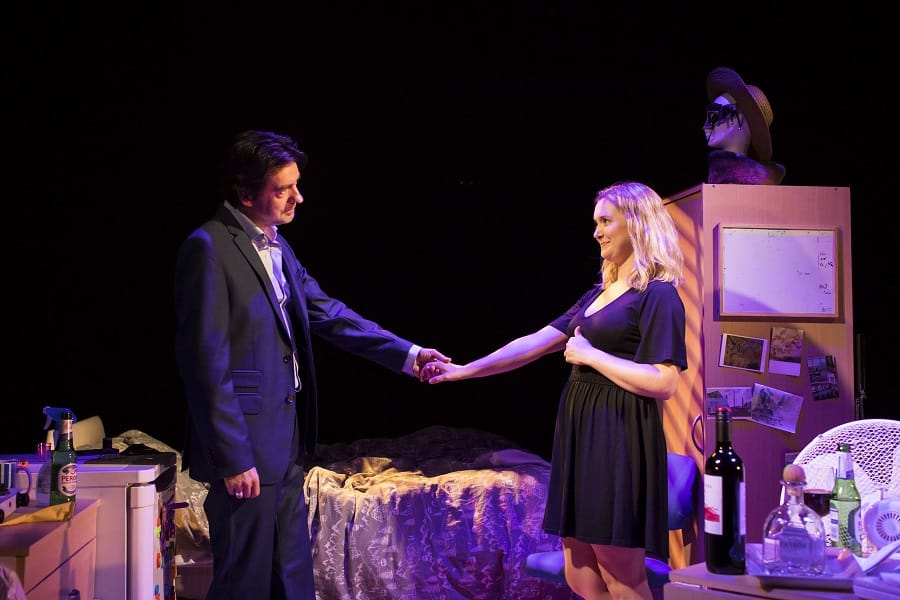 Touch - James Clyde - Amy Morgan - Photo: Helen Maybanks