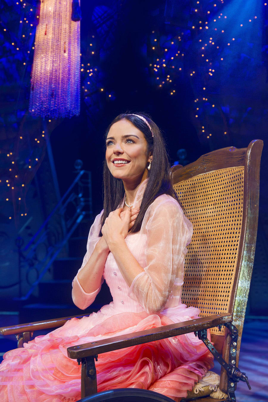 Sarah McNicholas (Nessarose) in Wicked at The Apollo Victoria Theatre (Photo: Matt Crockett)