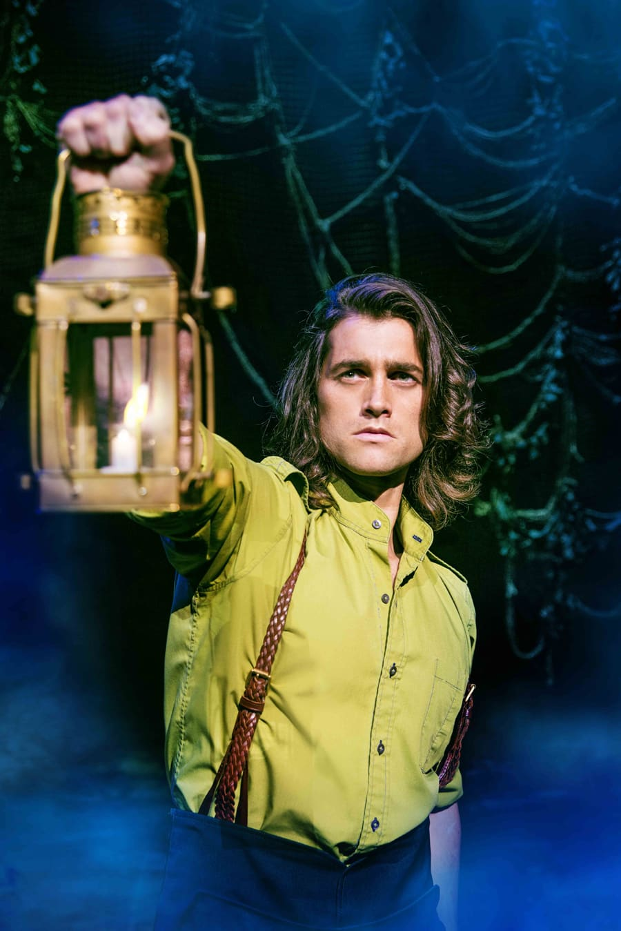 Bradley Jaden (Fiyero) in Wicked at The Apollo Victoria Theatre (Photo: Matt Crockett)