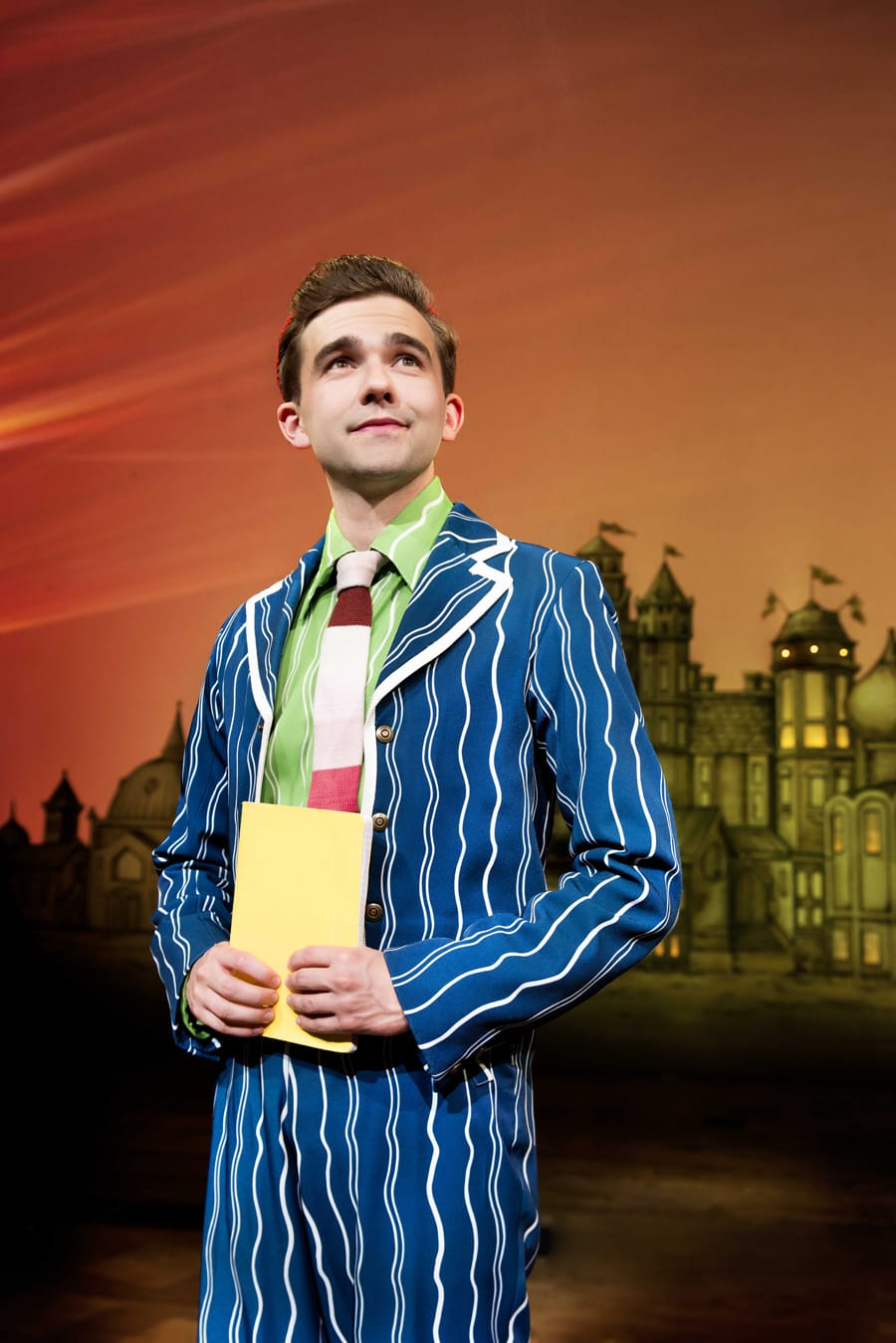 Jack Lansbury (Boq) in Wicked at The Apollo Victoria Theatre (Photo: Matt Crockett)