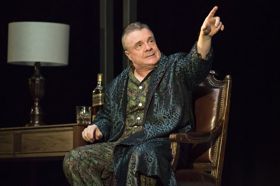 Nathan Lane (Roy M Cohn) in Angels In America - Millennium Approaches (Photo: Helen Maybanks)
