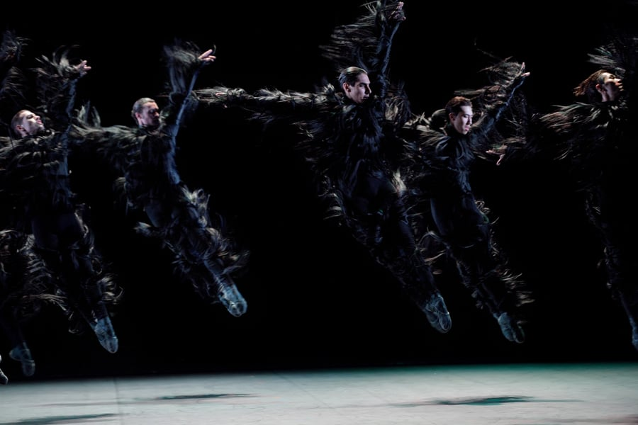 English National Ballet Dancers in Fantastic Beings by Aszure Barton (Photo: Laurent Liotardo)