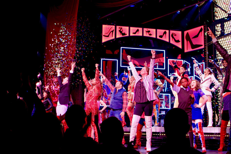 Kinky Boots' 2nd Birthday Curtain Call (Photo: Gabby Wallace)