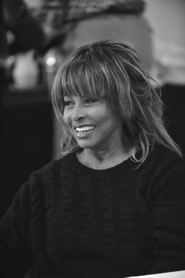 Tina Turner at the Tina workshop in December 2016 (Photo: Hugo Glendinning)