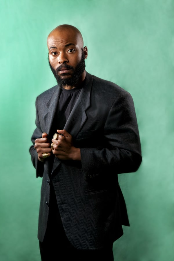 Arinzé Kene (Photo: Bronwen Sharp)