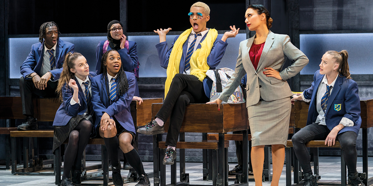 Preeya Kalidas, Layton Williams and ensemble in Everybody's Talking About Jamie