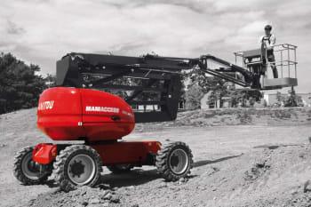 Plataforma Articulada Diesel 160 ATJ