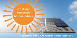 Profiteer direct van de eerste zonnestralen met zonnepanelen! Bereken uw persoonlijke besparing.