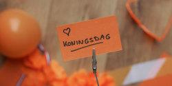 Nederland kleurt oranje, jouw huis ook