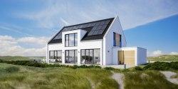Nieuwe 300 watt zonnepanelen met hoog rendement van Sharp