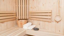 Houten sauna