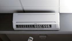 Airconditioning aan de muur