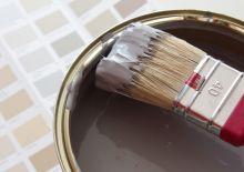 peinture et pinceau