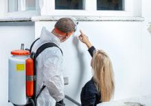 Vochtplekken op de muur kunnen verholpen worden met vochtbestrijding