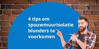 4 tips om spouwmuurisolatie blunders te voorkomen