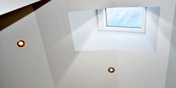 Ontspannen naar een spanplafond
