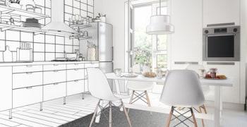Keuken plaatsen of vervangen