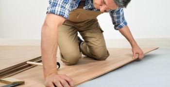 Laminaatvloer leggen of vervangen