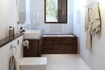 Nieuwe badkamer plaatsen