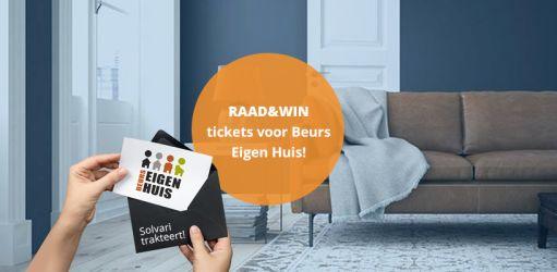 [Raad en Win] - Maak kans op twee kaarten voor Beurs Eigen Huis!