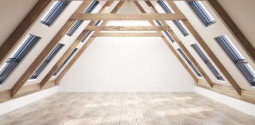 Maak een leefruimte van je rommelzolder!