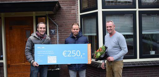 Dit is de winnaar van €250 korting op isolatie!