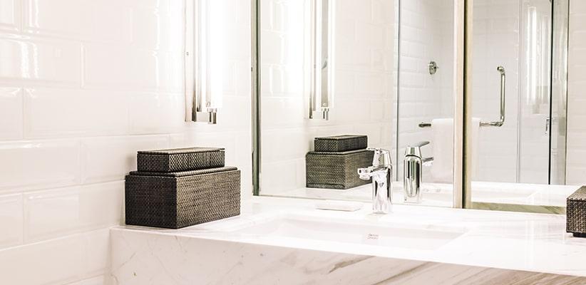 6 tips om je badkamer optisch te vergroten | Solvari