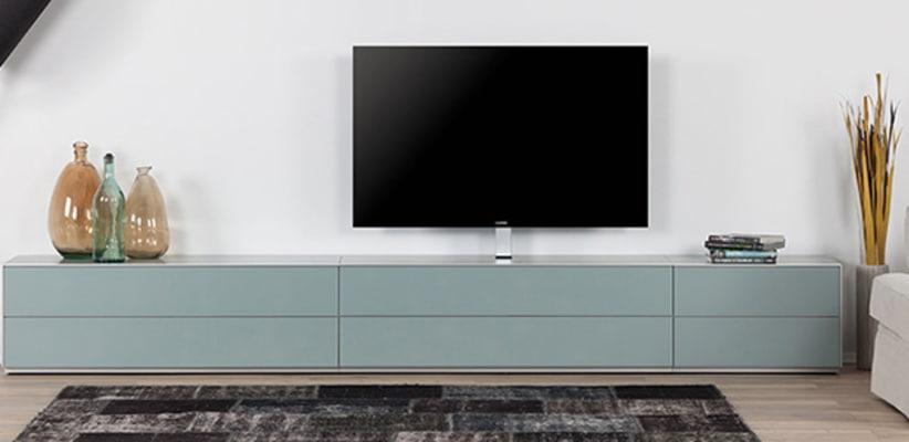 Interieurtrends van 2018, een design tv-meubel   Solvari