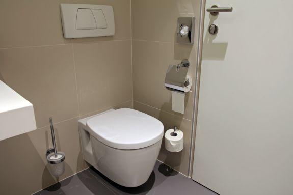 Toilet na een complete verbouwing