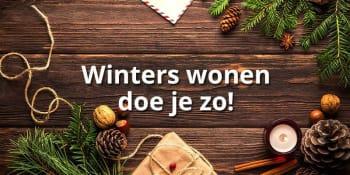 Winters wonen: maak je huis winterproof!