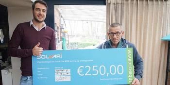 Dit is de winnaar van 250€ korting op isolatie!